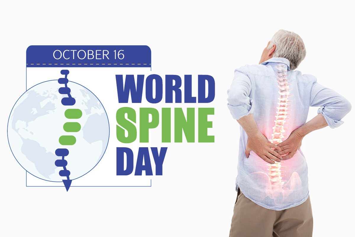 spine, spine health, spine health month, world spine day, spinal health, William Capicotto