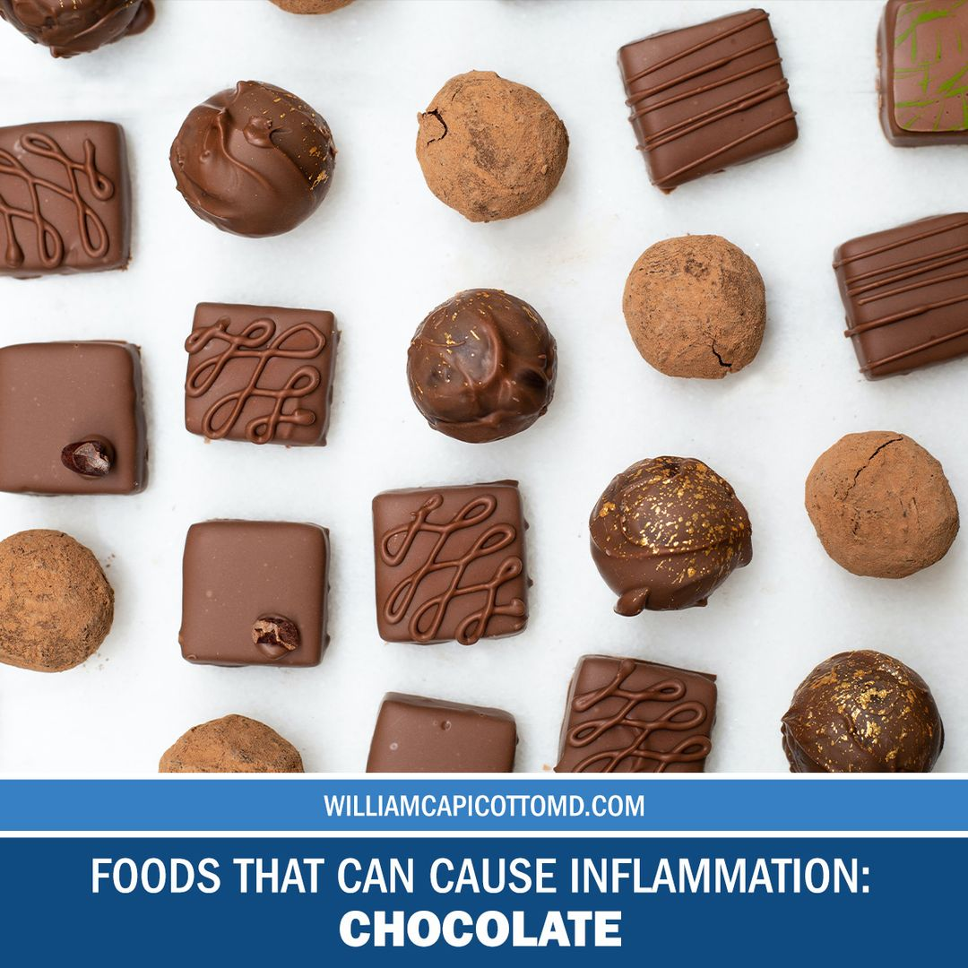 5 Common Foods that can Increase Inflammation Levels: Chocolate