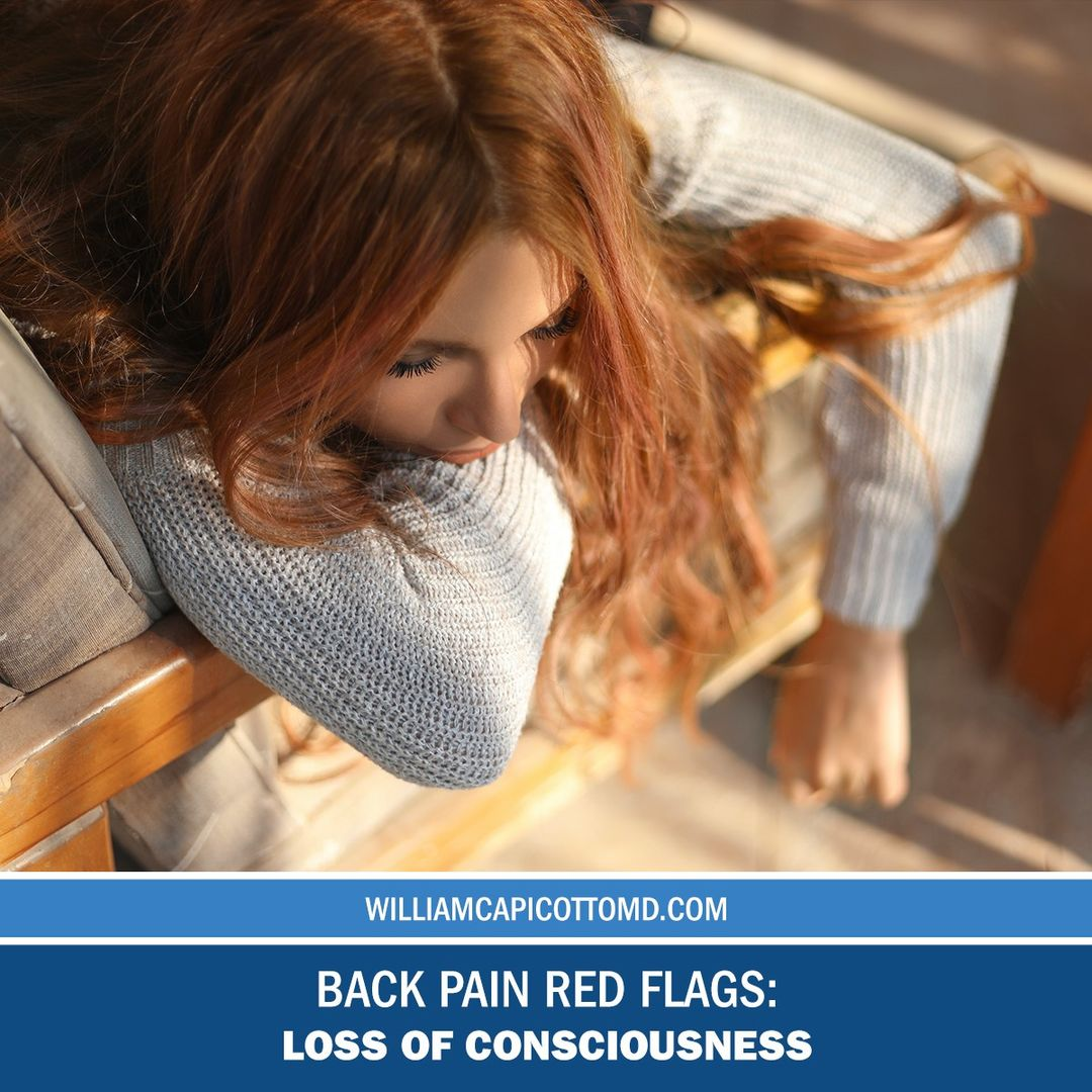 Back Pain Red Flags: Loss of Consciousness