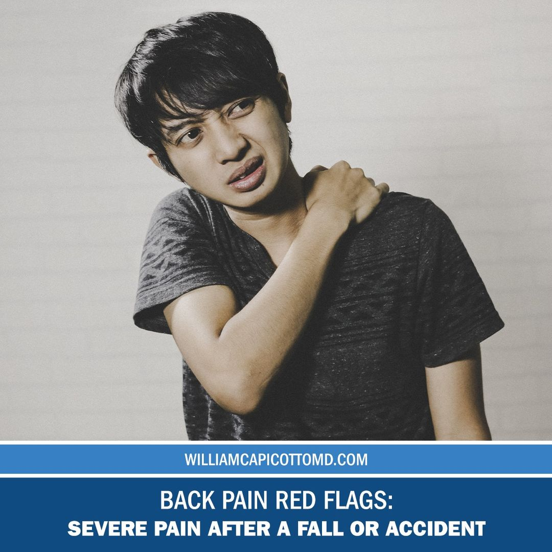 Back Pain Red Flags: Severe Pain After a Fall or Accident