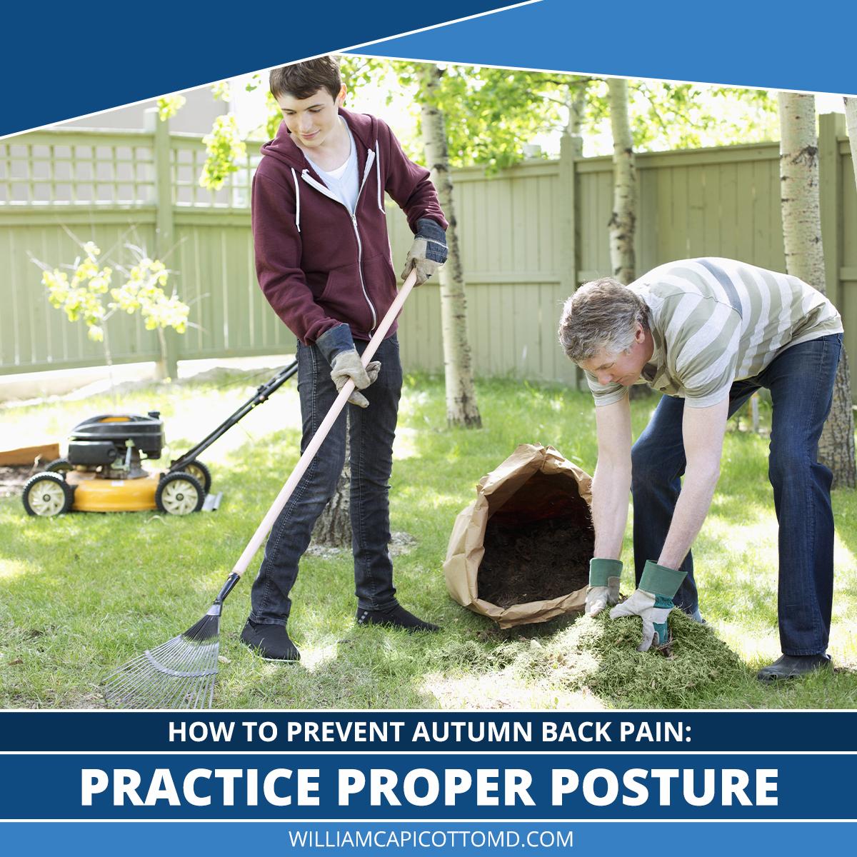 Practice Proper Posture